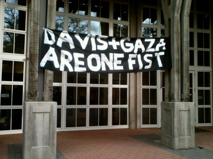 UC Davis Nakba Occupation