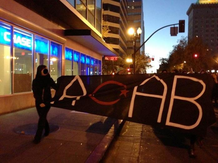 ACAB banner