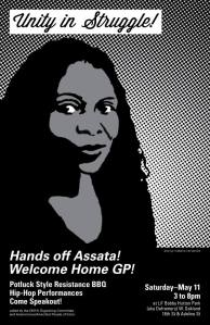 Hands Off Assata! Welcome Home GP!
