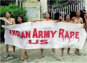In Manipur, the women shame the army.