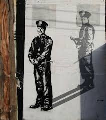 police brutality grafitti
