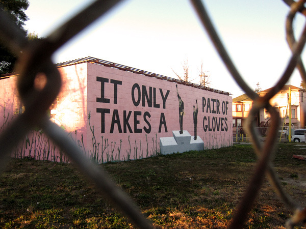 Original mural. Photo by Oaktown Art