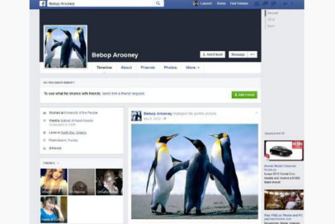 The RCMP kept tabs on Toronto protest groups using this Facebook profile.