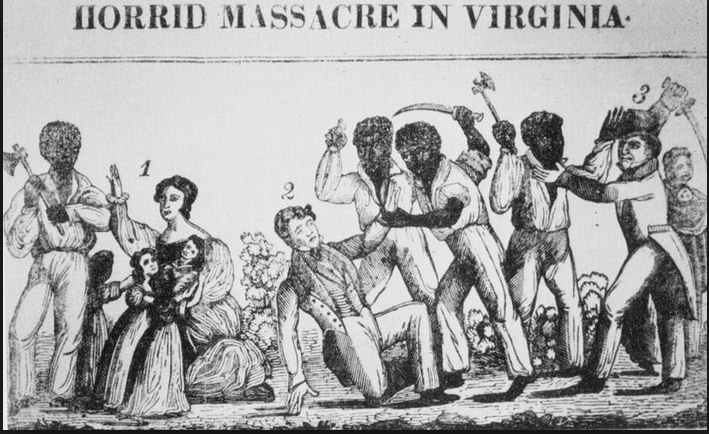 an analysis of the silent rebellion by nat turner Nat turner in jerusalem is a journey into the fervent religious belief behind the  leader of a slave rebellion in southampton county, va, armed with a sword and  spirit  his silent energy is apparent whether he sits shackled in a corner,  it's  not surprising that the theme of righteous response to injustice.