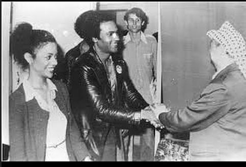 Huey P. Newton & Yassir Arafat (1980)