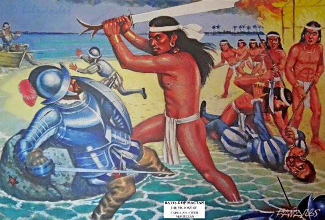 Filipino battle of Mactan 1