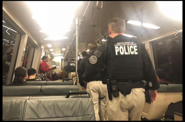 Beware of DHS patrols and undercover BART police collaborations